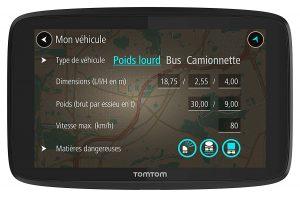 GPS poids lourd tomtom professional 620 test avis
